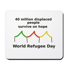 World Refugee Day Mousepad