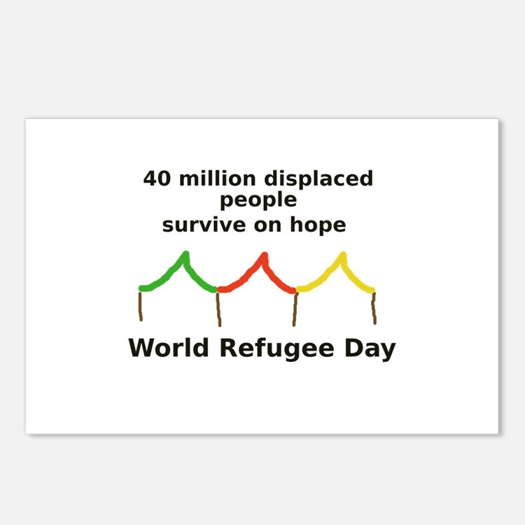 World Refugee Day Postcards (Package of 8)