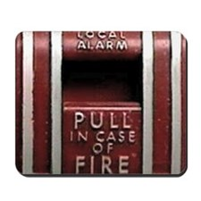 Pull In Case of Fire Mousepad