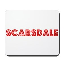 Retro Scarsdale (Red) Mousepad