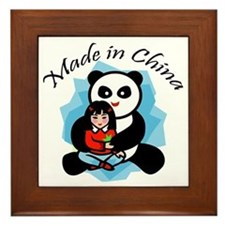 Made in China Panda Framed Tile