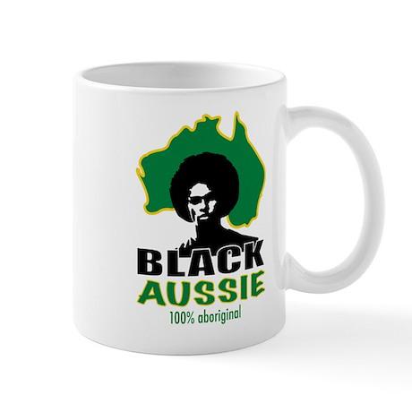 Black Aussie Mug