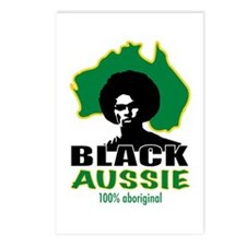 Black Aussie Postcards (Package of 8)