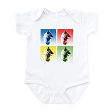 Belgian Tervuren Pop Art Infant Bodysuit