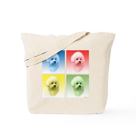 Bichon Pop Art Tote Bag