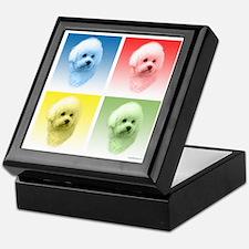 Bichon Pop Art Keepsake Box