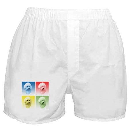 Bichon Pop Art Boxer Shorts
