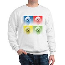 Bichon Pop Art Sweatshirt