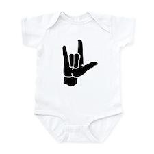 I LOVE YOU (in sign language) Infant Bodysuit