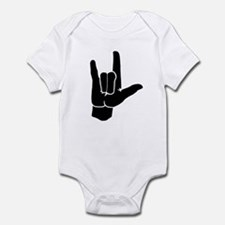 I LOVE YOU (in sign language) Infant Bodysuit