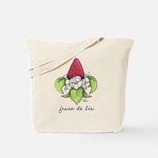 Fraise de Lis Tote Bag