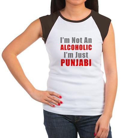 I'm not an Alcoholic Women's Cap Sleeve T-Shirt