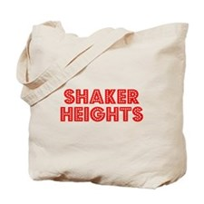 Retro Shaker Heights (Red) Tote Bag