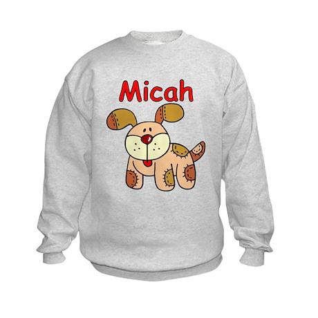 Micah Puppy Kids Sweatshirt