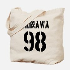 OKINAWA JAPAN NUMBER/BLACK Tote Bag