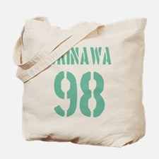 OKINAWA JAPAN NUMBER/GREEN Tote Bag