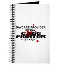 Daycare Cage Fighter by Night Journal
