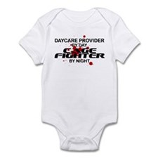 Daycare Cage Fighter by Night Infant Bodysuit