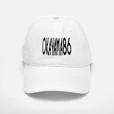 OKAYAMA JAPAN NUMBER/BLACK Baseball Baseball Cap