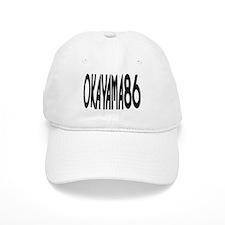 OKAYAMA JAPAN NUMBER/BLACK Baseball Cap