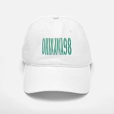 OKINAWA JAPAN NUMBER/GREEN Baseball Baseball Cap