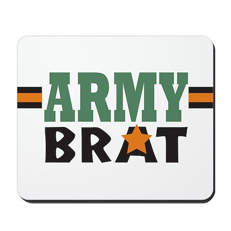 Military Army Brat Mousepad