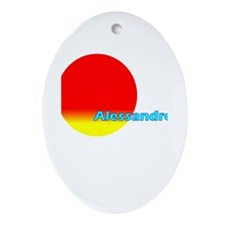 Alessandro Oval Ornament