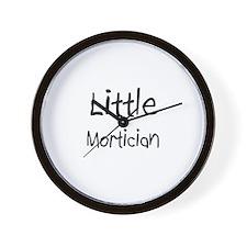 Little Mortician Wall Clock