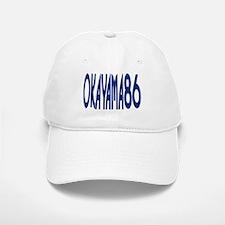 OKAYAMA JAPAN NUMBER/BLUE Baseball Baseball Cap
