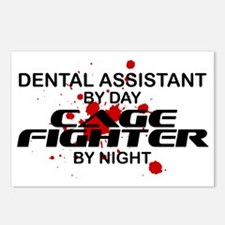 Dental Asst Cage Fighter by Night Postcards (Packa