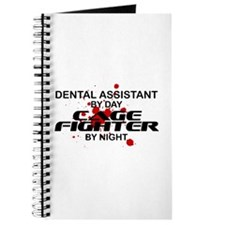 Dental Asst Cage Fighter by Night Journal