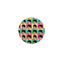 Danny Domino Pop Art Mini Button