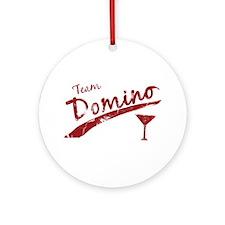 Team Domino Ornament (Round)