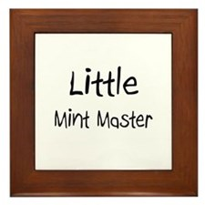 Little Mint Master Framed Tile