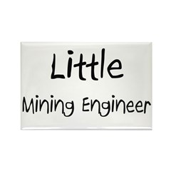 Little Mining Engineer Rectangle Magnet (10 pack)