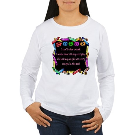 SATC Samantha Sex Quote Women's Long Sleeve T-Shir