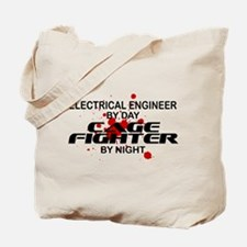 Elect Engnr Cage Fighter by Night Tote Bag