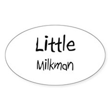 Little Milkman Oval Decal