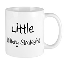 Little Military Strategist Mug