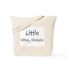 Little Military Strategist Tote Bag