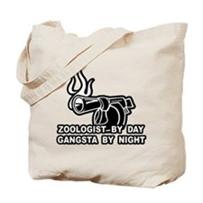 Zoologist By Day Tote Bag