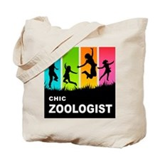 Chic Zoologist Tote Bag