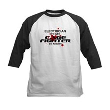 Electrician Cage Fighter by Night Tee