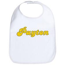Retro Payton (Gold) Bib