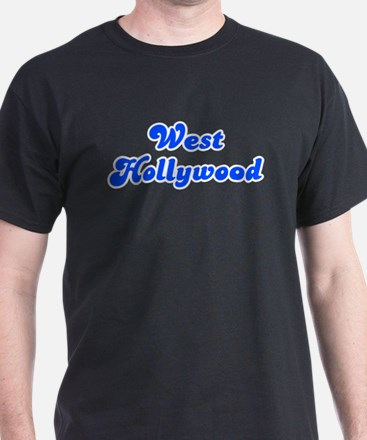 Retro West Hollywood (Blue) T-Shirt