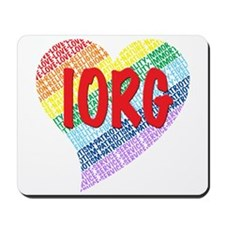 Rainbow for Girls Mousepad