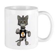 Cute Digital kitty Mug