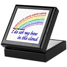 Rainbow for Girls Keepsake Box