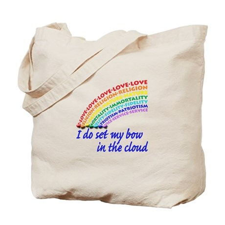 Rainbow for Girls Tote Bag