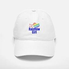 Rainbow Girls Baseball Baseball Cap
